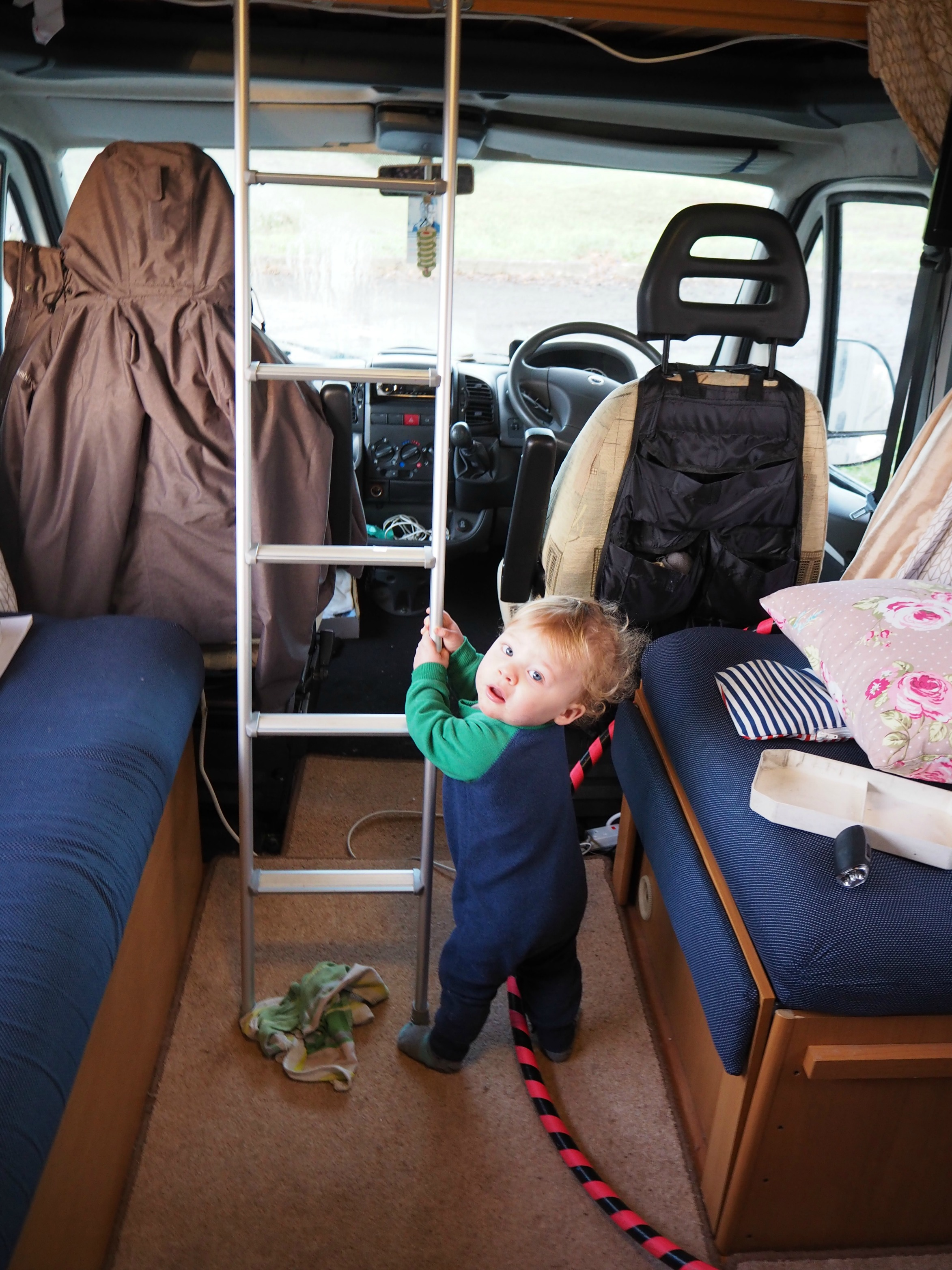 Travel As They Grow - Motorhome Life - Baby