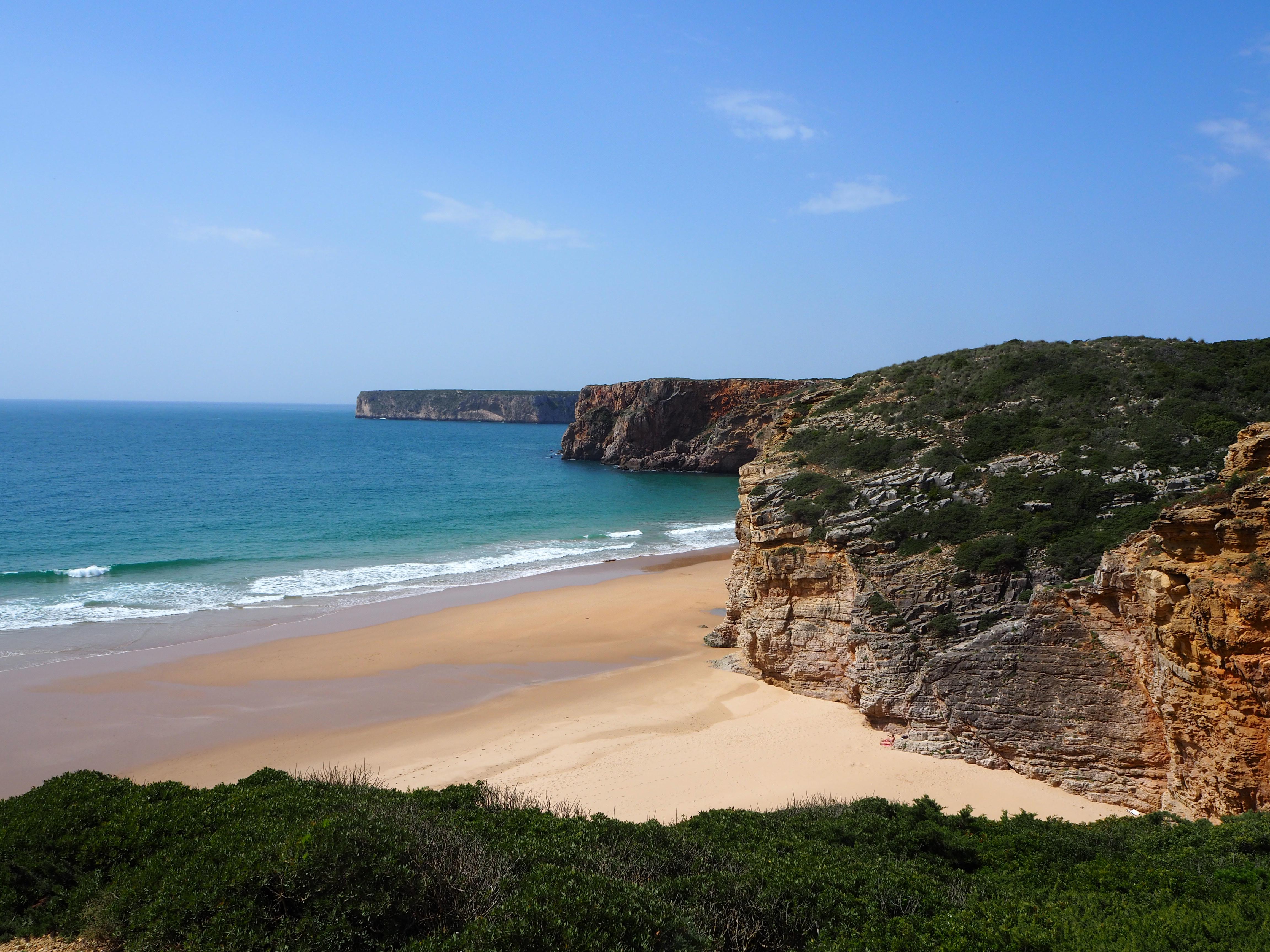 Wild camping Algarve Portugal